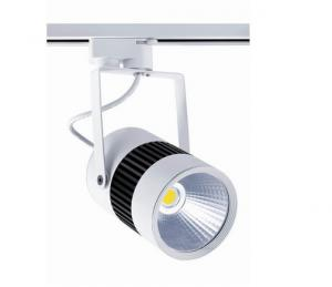 China Black / White COB Led Commercial Track Lighting CRI >85 For Decorating Lighting on sale