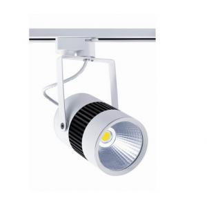 China Black / White COB Led Commercial Track Lighting CRI >85 For Decorating Lighting on sale