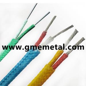 China Le téflon résistant à la chaleur a isolé le matériel compensateur de PVC de câble de thermocouple on sale