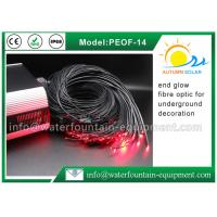 China 14mm End Glow Fiber Optic Pool Lighting For Underground Decoration Polymer Material on sale