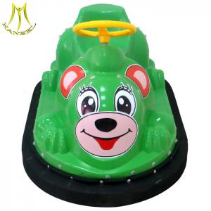 China Hansel amusement equipment outdoor mini battery operated bumper car on sale