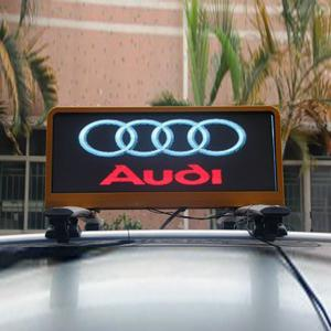 China Outdoor P5 Waterproof Taxi Roof LED Display , 3G / 4G Car Top LED Display on sale