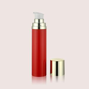 China PP Cosmetic Plastic Bottles With Airless Pump For Skin Care GR610A/B 50ML 75ML 120ML on sale