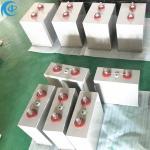 Super 7200uF Oil DC Link Capacitor 1250VDC energe storage pulsed dc link filter capacitor