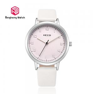 China Japanese Quartz Movement Quartz Wrist Watch Waterproof Big Dial Design For Girl on sale