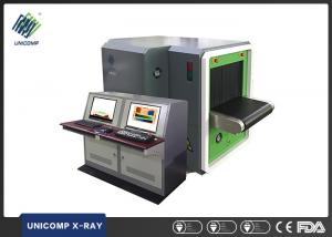 Quality Dual Viewer X Ray Security Scanner , Baggage X Ray Machine 0.22m / S Detection for sale