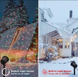 China laser light outdoor christmas lights projector,garden decoration landscape christmas laser light on sale