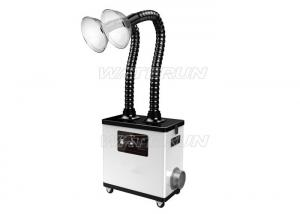 China Nails Art Salon Fume Extractor Portable Wheeled Durable Acrylic  Round Nozzles on sale