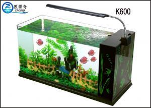 China Eco-Friendly Aquarium Fish Tank , Durable LED  Aquarium Lightning Clear Glass on sale