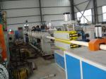 PVC pipe tube extruder machine