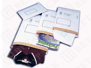 China Heavy Duty Brown / White Kraft Mailing Envelopes Mailing Pouches on sale