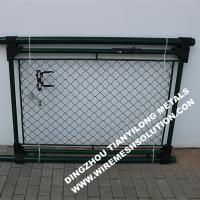 China PVC Coated Wire Mesh Garden Fence Panels 1085mm For Residential on sale