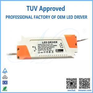 China TUV approved LED lighting transformer driver for 18w downlight on sale