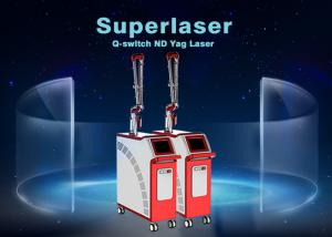 China 1064 nm / 532nm Q Switch Nd Yag Laser Tattoo Removal Machine Beauty Device on sale