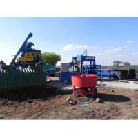 JS500 Concrete Mixer Semi Automatic Block and Paver Machine QT4-15