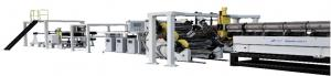China High Speed Computer Controlled ABS PS Plastic Sheet Extrusion Machine With CE Certificate on sale