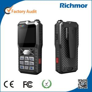 China Richmor Police Body Worn Camera with 3G GPS WIFI for Real time IOS/Andorid Support on sale