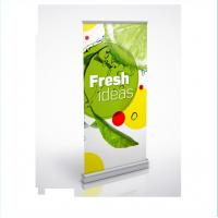 China Customized Exhibition Roll Up Banner Stand Pull Up Advertising Banners on sale
