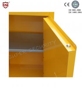 ... Quality Lockable Safety Solvent / Fuel Flammable Storage Cabinet For  Class 3 Liquids For Sale ...