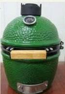 "China 12"" Kamado Grills Charcoal Cooking in Ceramic (big green egg series-JX1200-E on sale"