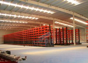 China Q235B Steel Cantilever Storage Racks , Selectivity Heavy Duty Cantilever Racking on sale