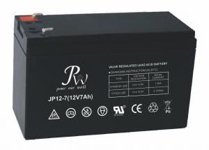 China Universal VRLA Lead Acid Battery 12v 7ah with Stable Quality & High Reliability on sale