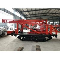 China Durable Small Crawler Mounted Drill Rig Rotary Water Well Drilling Equipment on sale