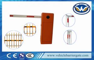 China Manual Release Car Park Entrance Barriers Automatic Boom Barrier 1400rmp on sale