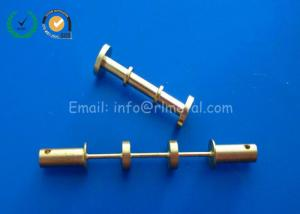 China Customized Precision Brass Telecommunication Parts for Monitor / Phone / PC on sale
