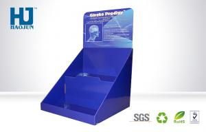 China Custom Electronic Products Counter Display Boxes With 2 Layer Full Color on sale