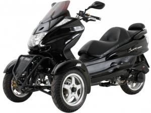 150cc Three-Wheel Trike Scooter, Two Front Wheels MC_D150TKA for ...