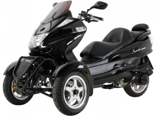 150cc Three Wheel Trike Scooter Two Front Wheels Mc
