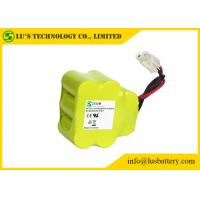 9.6V battery pack 3000 mah rechargeable NIMH batteries with wires and connector in size SC ni-mh cell 1.2V