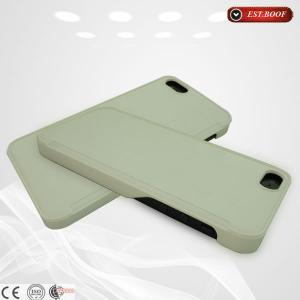 China Premium silicone phone cases dustproof green durable smart phone cover on sale
