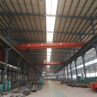 High speed 10 ton single girder overhead crane for sale