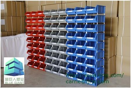 Warehouse Stackable Storage Bins For Tools Screws
