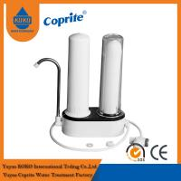 Premium Two Stage Countertop Water Filter , Home Pure Water Filter With PP Cartridge
