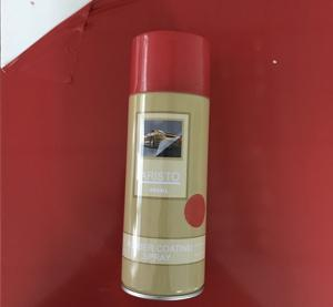 China Water Based Paint  Removable Rubber Coating Spray, Red Color Aerosol on sale