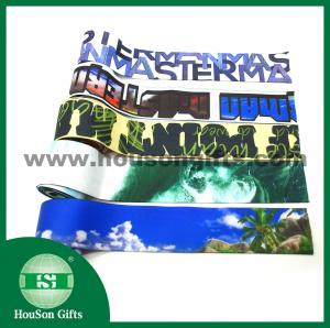 China Sublimation colored red elastic band sexy elastic tape custom printed elastic bands on sale
