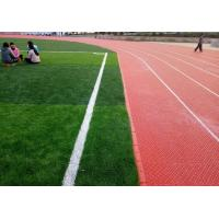 Not Reflective Modular Sports Flooring Anti Static For Outside Running Track