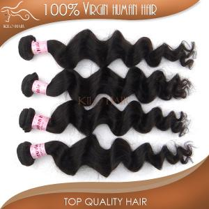 China free shipping accept paypal virgin peruvian hair wholesale loose wave human hair weaving on sale