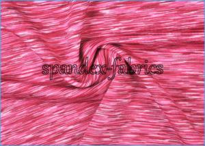 China Red Quik Dry Sweat Absorbing Lycra Suits Gymnastics Fabric Customized on sale