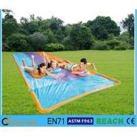 Easy Setting Up Inflatable Slip N Slide Silk Screen Printing Large Diameter 16