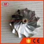 TD03 11+0 blades 42.00/56.00mm Point milling high performance Turbocharger Billet/milling/aluminum 2618 compressor wheel