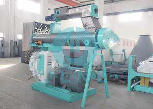China Middle Scale Poultry Feed Pellet Machine / Chicken Cow Feed Making Machine on sale
