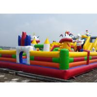 Popular Playing Kids Giant Inflatable Amusement Park / Characters Inflatable Fun City