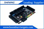 Real Time Monitoring Swiping Building Access Control System With Color Indicator