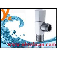 sanitary quarter turn angle valve