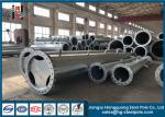Electrical Post Steel Electric Pole Sheet Metal Fabrication For Substation Structure