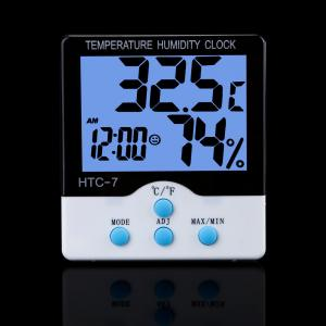 China High-accuracy LCD Blacklight Digital Electronic Temperature Humidity Meter Thermometer HTC on sale